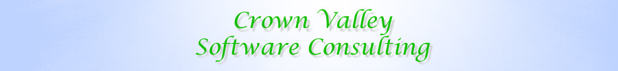 Crown Valley Software Consulting